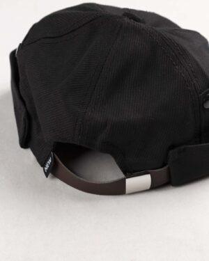 کلاه مردانه لئونی K120- مشکی (4)